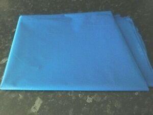 RIPSTOP SAIL CLOTH BLUE   1m x 1.5m