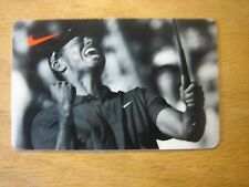 NIKE Tiger Woods Collectible Gift Card