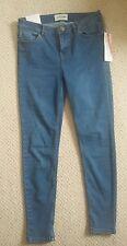 New Look crop blue denim jeans jeggings. 12. Skinny/ Straight Reg. BRAND NEW