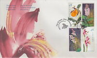 CANADA #1787-1790 46¢ CANADIAN ORCHIDS FIRST DAY COVER