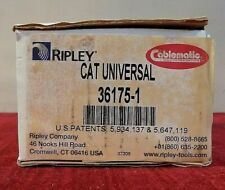 Ripley Cablematic Cat Universal (36175-1) Compression Assembly Tool - New