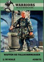 Warriors 1:35 Waffen SS Fallschirmjager Resin Figure Kit #35075