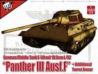 Modelcollect WWII Alemán Mediano Tanque E-50 Con 10.5cm L/52 Panther III Ausf.f