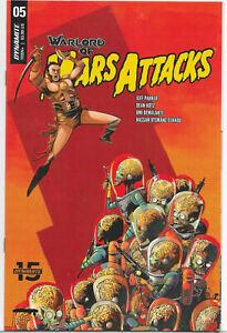 Warlord of Mars Attacks #5 DYNAMITE COVER B Sebastian Piriz 2019