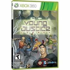 YOUNG JUSTICE LEGACY XBOX 360! JUSTICE LEAGUE BATMAN, SUPERMAN FAMILY GAME NIGHT