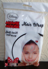 DISNEY HAIR WRAP Minnie Mouse JUST TWIST&WRAP Applying MAKE-UP BATHING SWIMMING