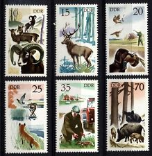 7691 GERMANY EAST DDR 1977 Hunting **MNH
