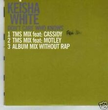 (361I) Keisha White, Don't Care Who Knows - DJ CD