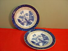 Craftsman China WILLOW BLUE Two Bread and Butter Plates
