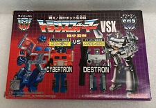 New sealed Transformers G1 WST Optimus Prime vs Megatron Takara world smallest