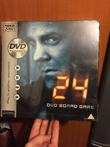 """""""24""""-DVD Board Game-Jack Bauer-T.V Show-C.T.U-Agent-BRAND NEW AND SEALED Xmas"""