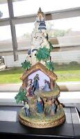 Avon Nativity figurine with light & Christmas songs