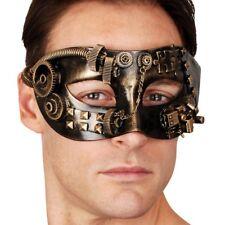 Steampunk Masquerade Eye Mask Sinclair Fancy Dress Venetian Costume Ball Gears
