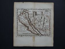 1676 DU VAL  Atlas map  CALIFORNIA ISLAND - AMERICA - Nouveau Mexique - Duval