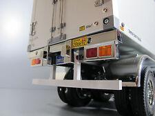 Custom Rear Aluminum Bumper Guard Tamiya 1/14 R/C Semi Flatbed Trailer Container
