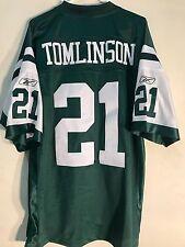Reebok Premier NFL Jersey NEW YORK Jets Ladainian Tomlinson Green sz XL