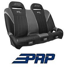 PRP Suspension Rear Bench Seat - Black / Grey 14-17 Polaris RZR XP 1000 & Turbo