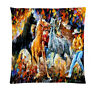 HORSE WESTERN GIFTS HOME DECOR COWBOY HORSES WESTERN CUSHION COVER 18 inch 45cms