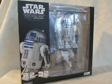 Star Wars Revo R2-D2 action figure by Kaiyodo with optional parts