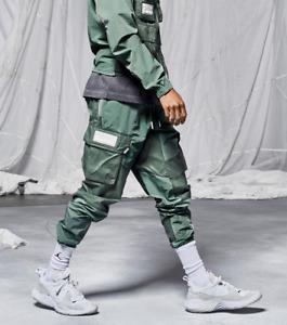 NWT Men's Nike Jordan Cargo Pants 23 Engineered CK9167-313 Green Medium M
