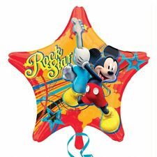 """18"""" Star MICKEY MOUSE Foil Helium BALLOON Birthday Party Decoration Supplies"""