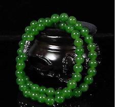 Beautiful Chinese Handcraft 100% Natural Jade Green Jade Necklaces