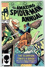 Amazing Spider-Man Giant-Size Annual #18 Vs. Scorpion Marvel Comics 1984 VF/NM