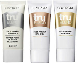 CoverGirl Tru Blend Face Primer NEW Choose Your Type Dry, Combo, Oily