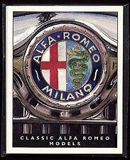 ALFA ROMEO Collectors Card Set - Giulia Spider 2600 Giulietta Sprint GT Montreal