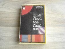 prog rock PINK FLOYD The Final Cut CASSETTE tape *1ST PRESS* 1983 WHITE SHELL