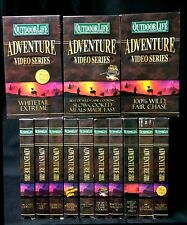 Outdoor Life Adventure Video Series lot of 16 wild game cooking deer management