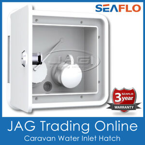 SEAFLO GRAVITY/CITY WATER FILLER INLET HATCH Caravan Camper Trailer RV Boat 4x4