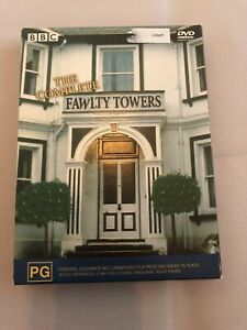 Fawlty Towers The Complete Series 3-disc box set DVD R4 Free Postage