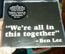 Ben Lee - We're All In This Together - MUSIC CD SINGLE  - FREE POST
