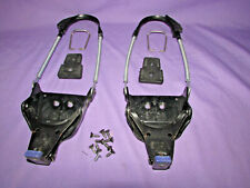VOILE 3-PIN Cable telemark touring tm bindings with hardware and heel lifters ~~