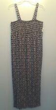 Old Navy Maternity Dress Sundress S Long NWT Black White