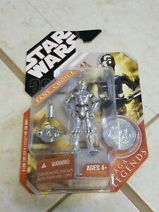 Star Wars 30th Anniversary Saga Legends Fan's Choice TC-14 w/ coin Hasbro 2007
