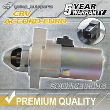 For Honda Accord Starter Motor EURO CL CM CP CR 2.4L CRV RD RE RM 2.4L *Square*