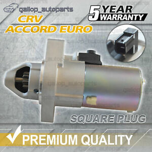 For Honda Accord Starter Motor EURO CL CM CP CR 2.4L CRV RD RE RM 2.4L *Square*