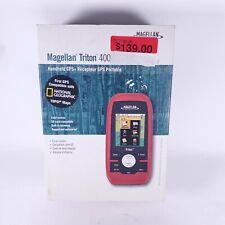 Magellan Triton 400 Waterproof Hiking GPS Handheld/Outdoors - Works Great