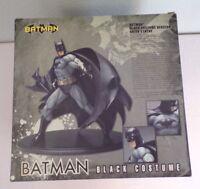 kotobukiya batman black costume pvc statue dc comics