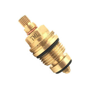 """Standard Washer Tap Valve Compression gland insert 1/2"""" BSP 20 teeth traditional"""