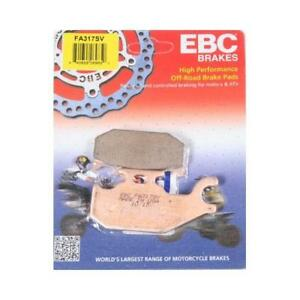 EBC SV RIGHT Front Brake Pads for Can Am 2007-12 Outlander 500 650 FA317SV