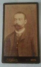 Photographie ancienne portrait d'homme photographie Jean GEISER ALGER
