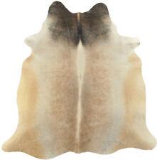 peau de vache taureau beige gris 220 x 160 cm peau de bœuf Tapis peau de vache
