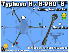 Yuneec Folding Arm Bracket B fits Typhoon H/H-PRO YUNTYH122BSVC
