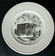 """10.25"""" England Wedgwood Plate Commemorating the Founding of Belleville Ilinois"""