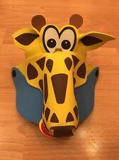 Giraffe Animal Zoo Farm Safari Jungle Foam Fancy Dress Party Hat Cap Visor New