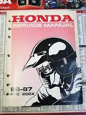 honda ct110 trail service repair manual 1986 2005
