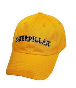 Caterpillar Embroidered Baseball Hat Cap Adjustable CAT NEW